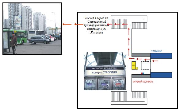 Схема проезда в МВЦ Крокус