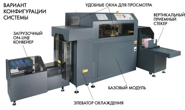Вариант конфигурации трехножевой системы CMT-130