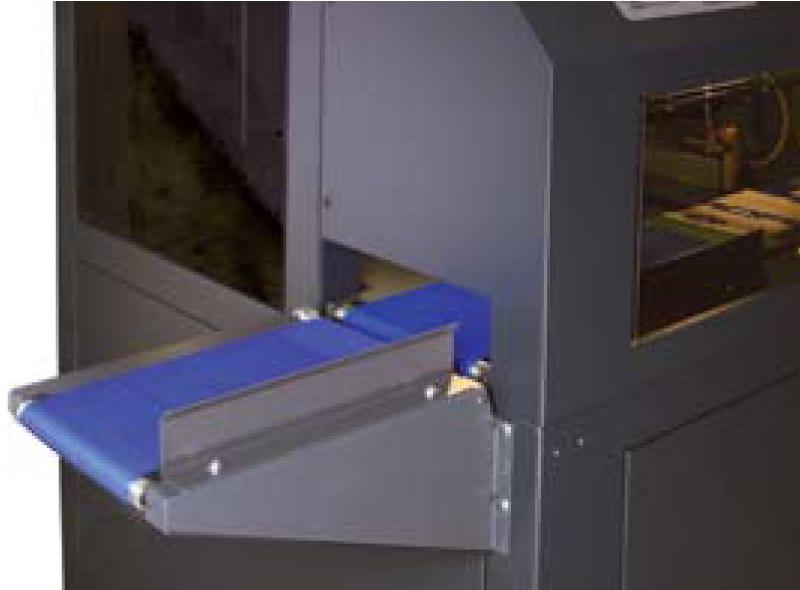 •Стандартный конвейер для ручной загрузки